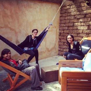 Tilsa, Vicky, Hanna and I