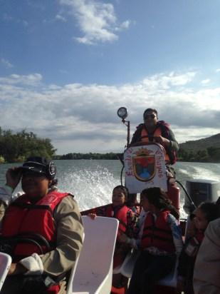 boat ride to El Cañón del Sumidero