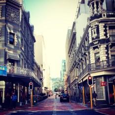 Street side, en route to Green Market.