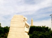 """First visit to the MLK Memorial. """"Out of the mountain of despair, a stone of hope."""""""