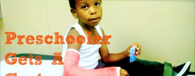 Mommy Guilt And Broken Bones Cast