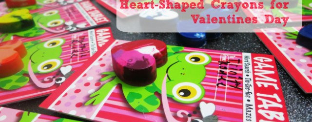Heart Shaped Crayons Valentines Day