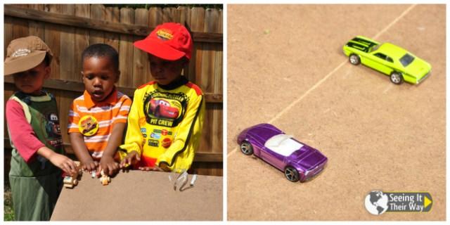 Disney Cars Party Car Ramp