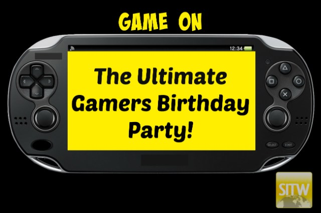 Game ON Gamers Birthday Party