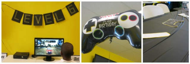 Game On Gamers Birthday Party Decor