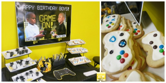 Game On Gamers Birthday Table