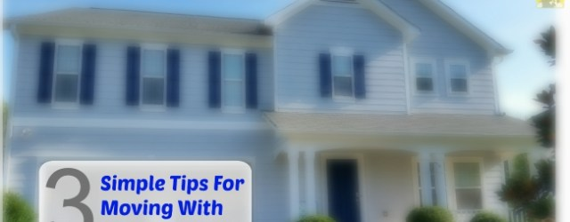 Simple Tips For Moving With Kids