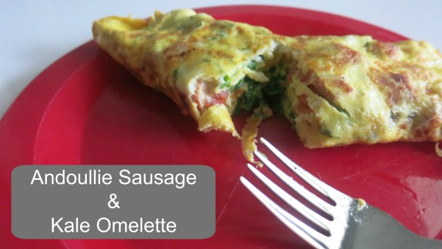 Johnsonville Sausage Omelette Fork Feature