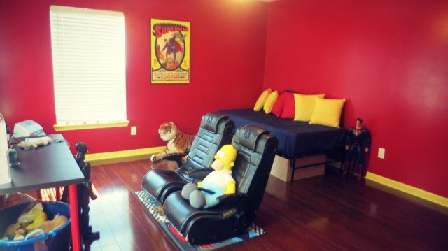 Playroom Decor Superhero