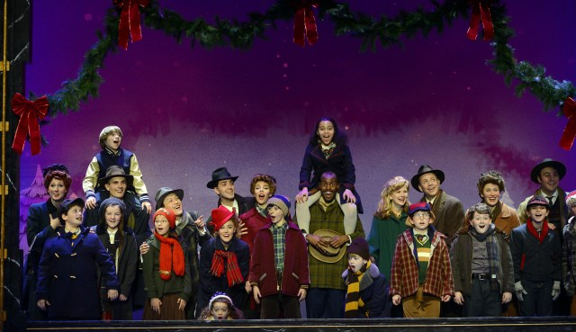 The Company of A Christmas Story. Photo credit: A Christmas Story