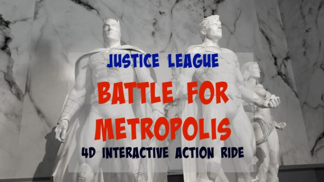 4D Interactive Action Ride JUSTICE LEAGUE: Battle_for_Metropolis_at_Six_Flags_Over_Georgia