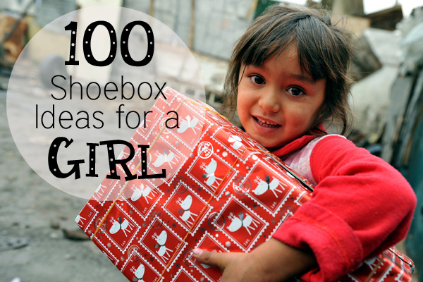OCC Shoebox Items for a Girl