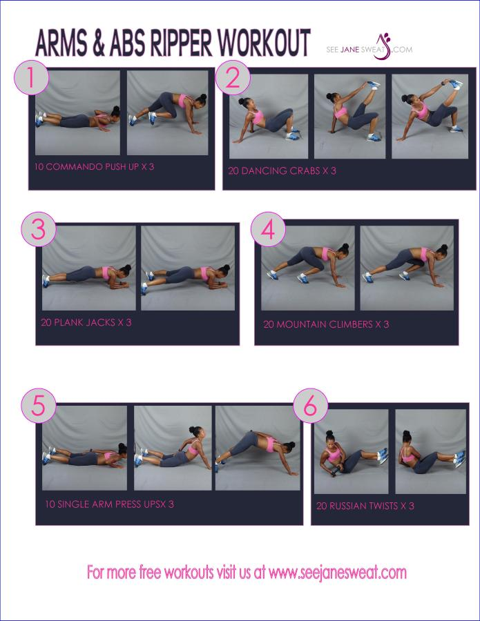 Arms & Abs Ripper