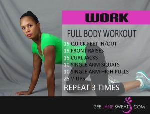 Work Full Body Workout
