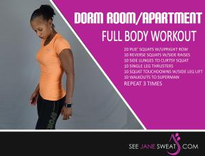 Dorm Room/Apartment Full Body Workout