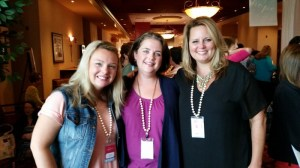 Meeting Nikki and Melissa of Proverbs 31's Online Bible Studies was a real treat.  They are so real!