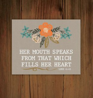 mouth speaks