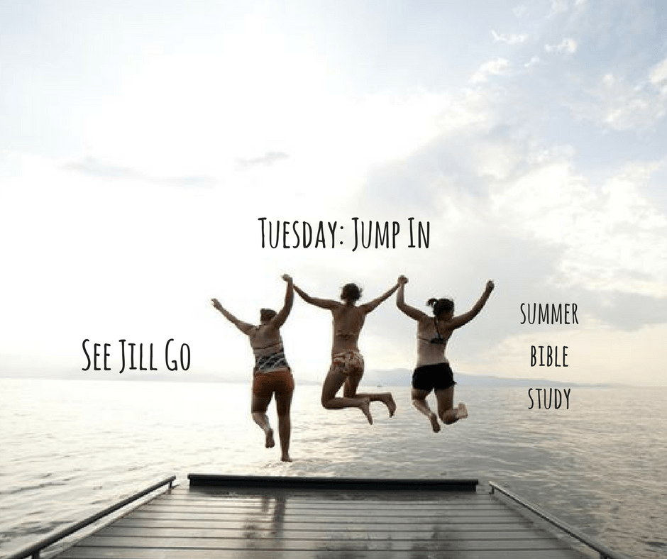 Tuesday: Jump In