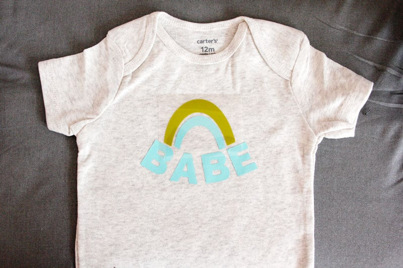 Download Rainbow Baby Onesie with Free SVG - see kate sew