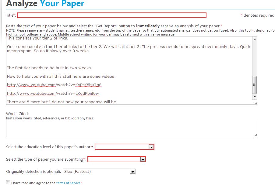 paper grader online free