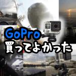 『GoPro HERO4 Silver(ゴープロシルバー)』を1年使った感想