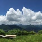 大野山(おおのやま)山頂から見た山々の景色は壮大なパノラマビューだった