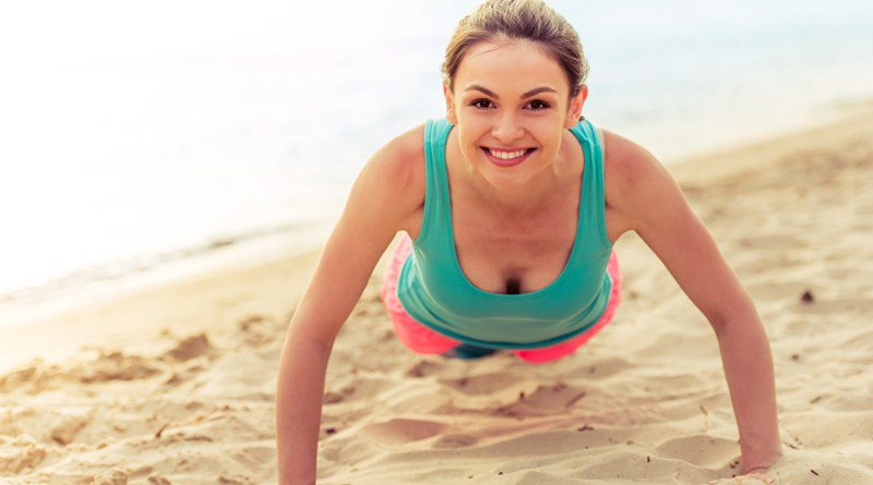 Work out in the sand