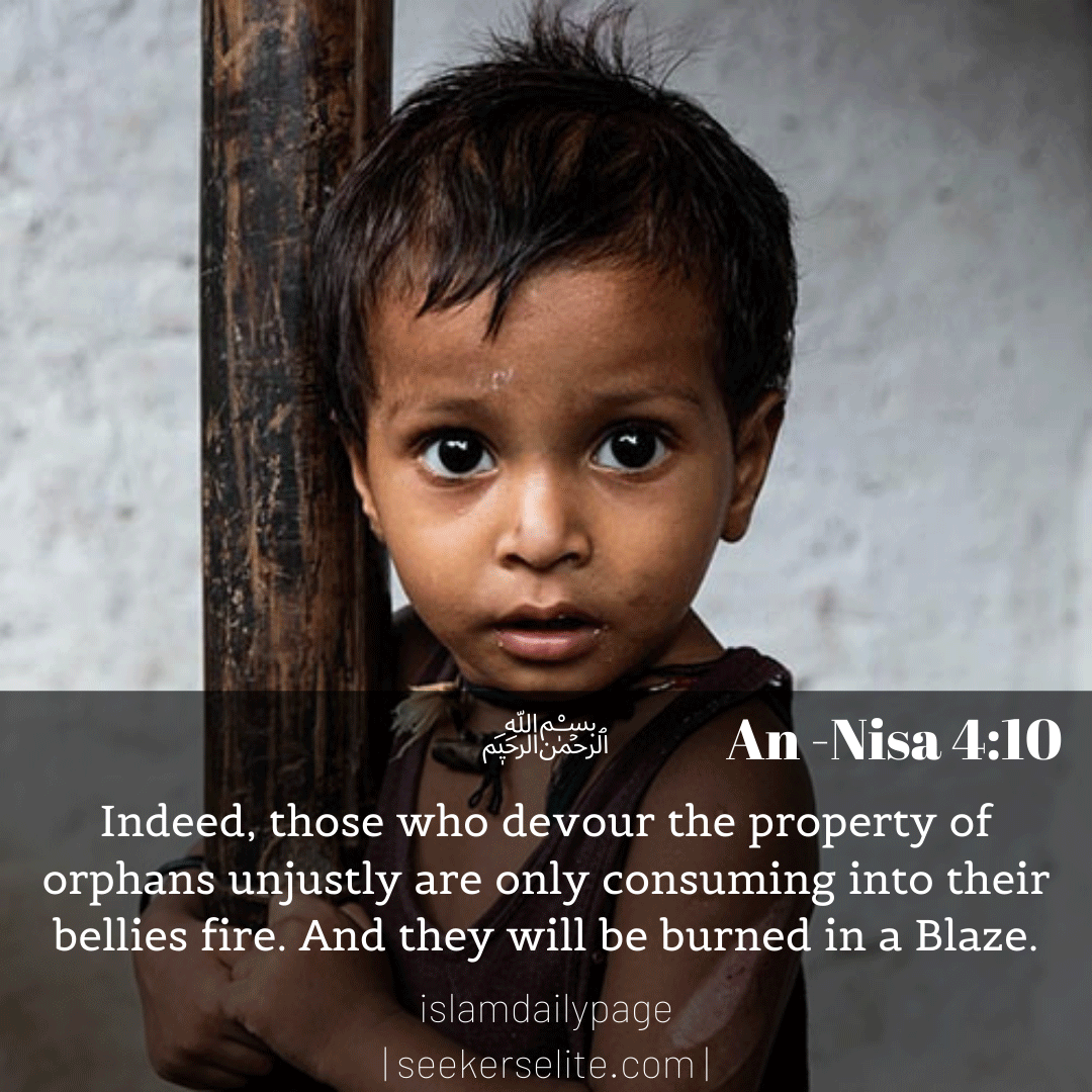 Islamic Quotes about Orphans