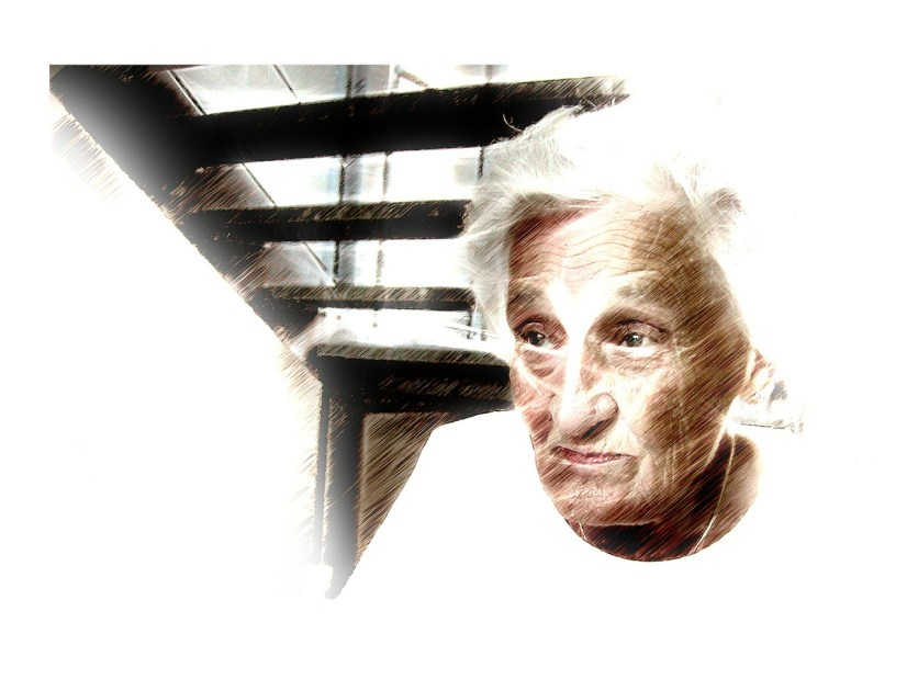 aging woman picture