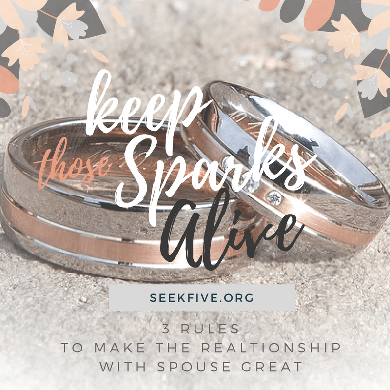 Keep the sparks alive with your spouse