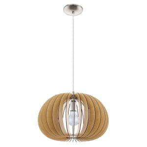 wood cutout lighting 3D circular