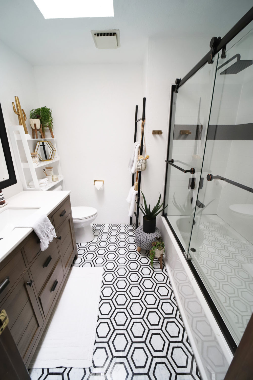 Epic Diy Bathroom Remodel Seeking Alexi Diy Boss