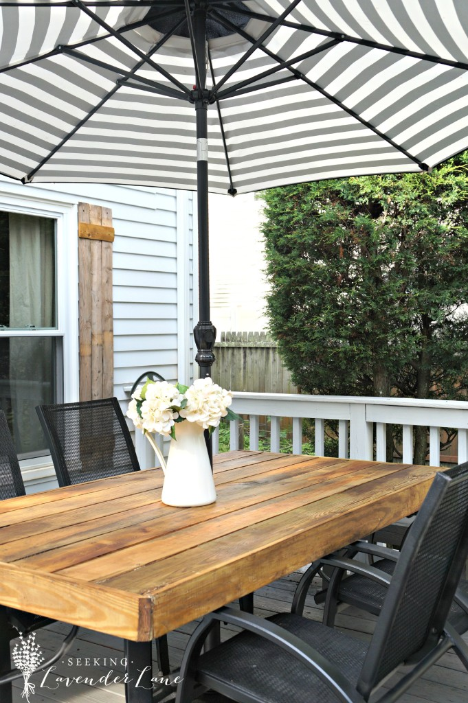 shelstring blog: Summer Home Tour Series- Seeking Lavendar ... on Backyard Table Decor id=48772