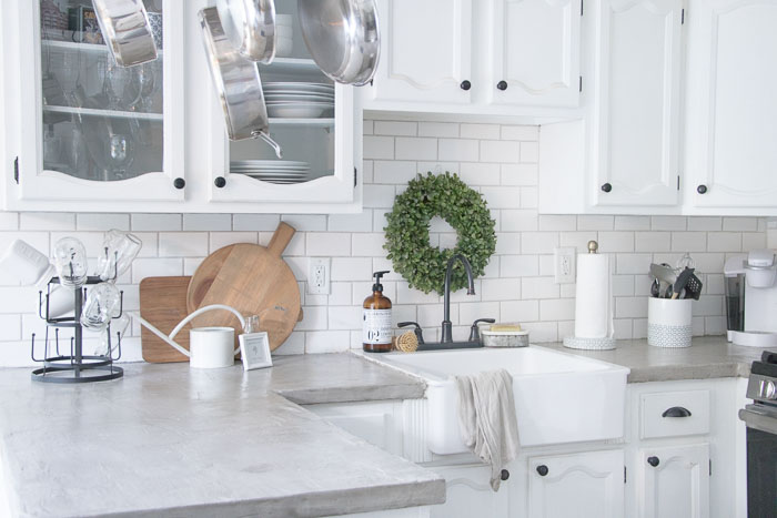 Concrete Countertops All You Need To Know About Ardex Feather Finish Seeking Lavendar Lane