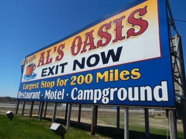 Billboards-the classic road trip.