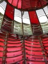 Oregon lighthouse lens