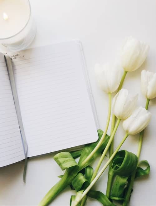 write affirmations in journal