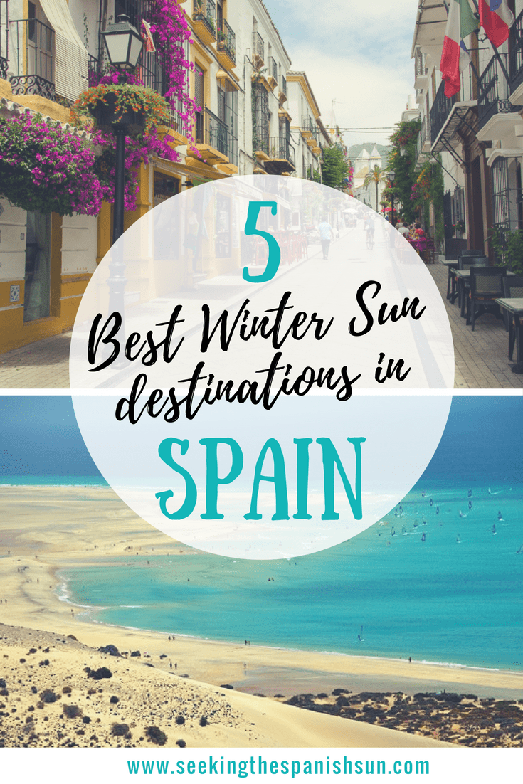 5 Best Winter Sun destinations in Spain