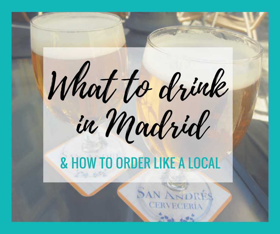 FB - What to drink in Madrid