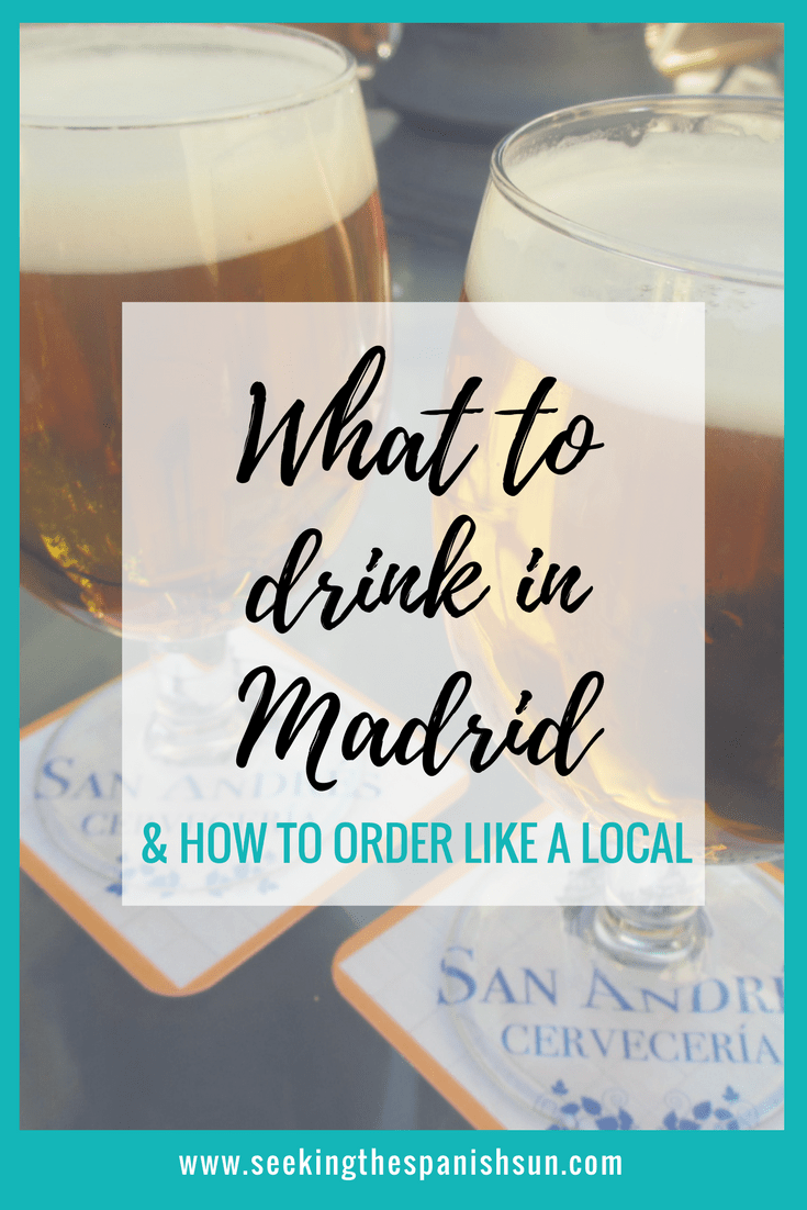 P - What to drink in Madrid