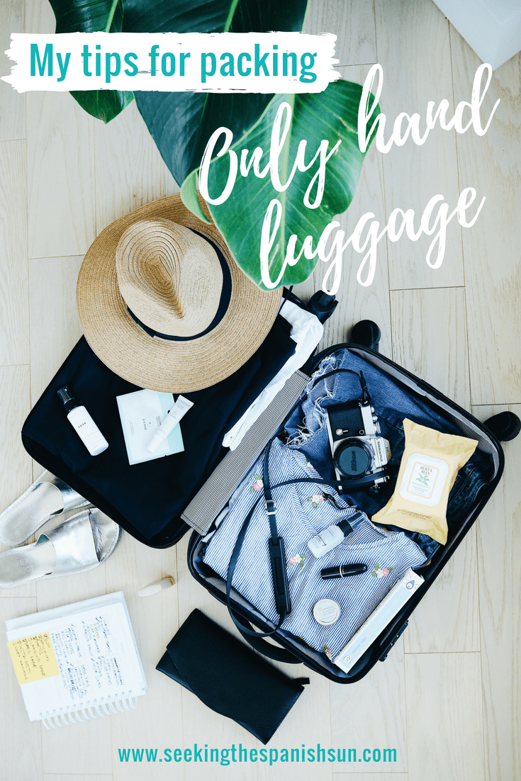 Packing only hand luggage