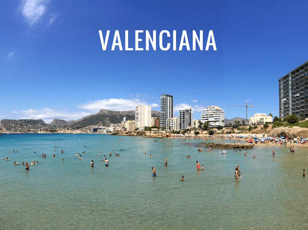 The different regions of Spain - Valenciana