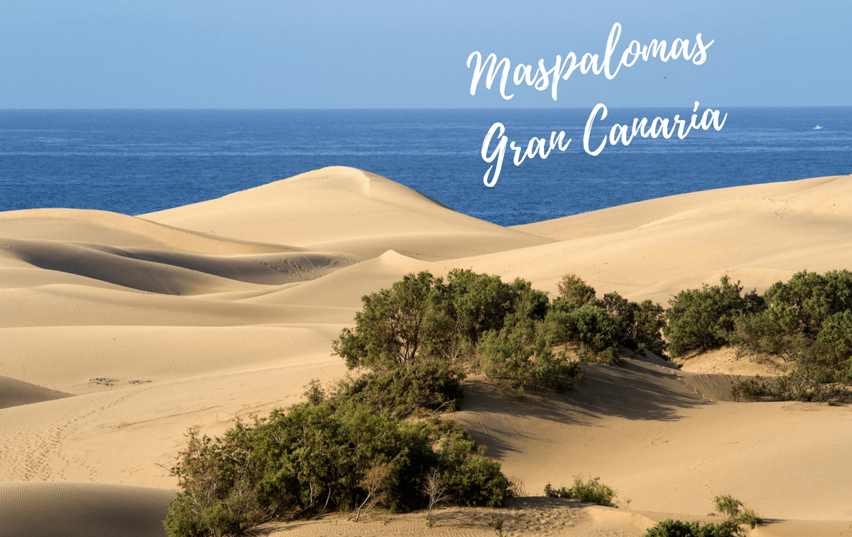 10 most beautiful beaches in Spain - Maspalomas