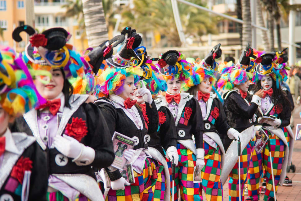 Colourful and fun Carnival costumes