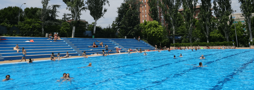 Where to go swimming in Madrid