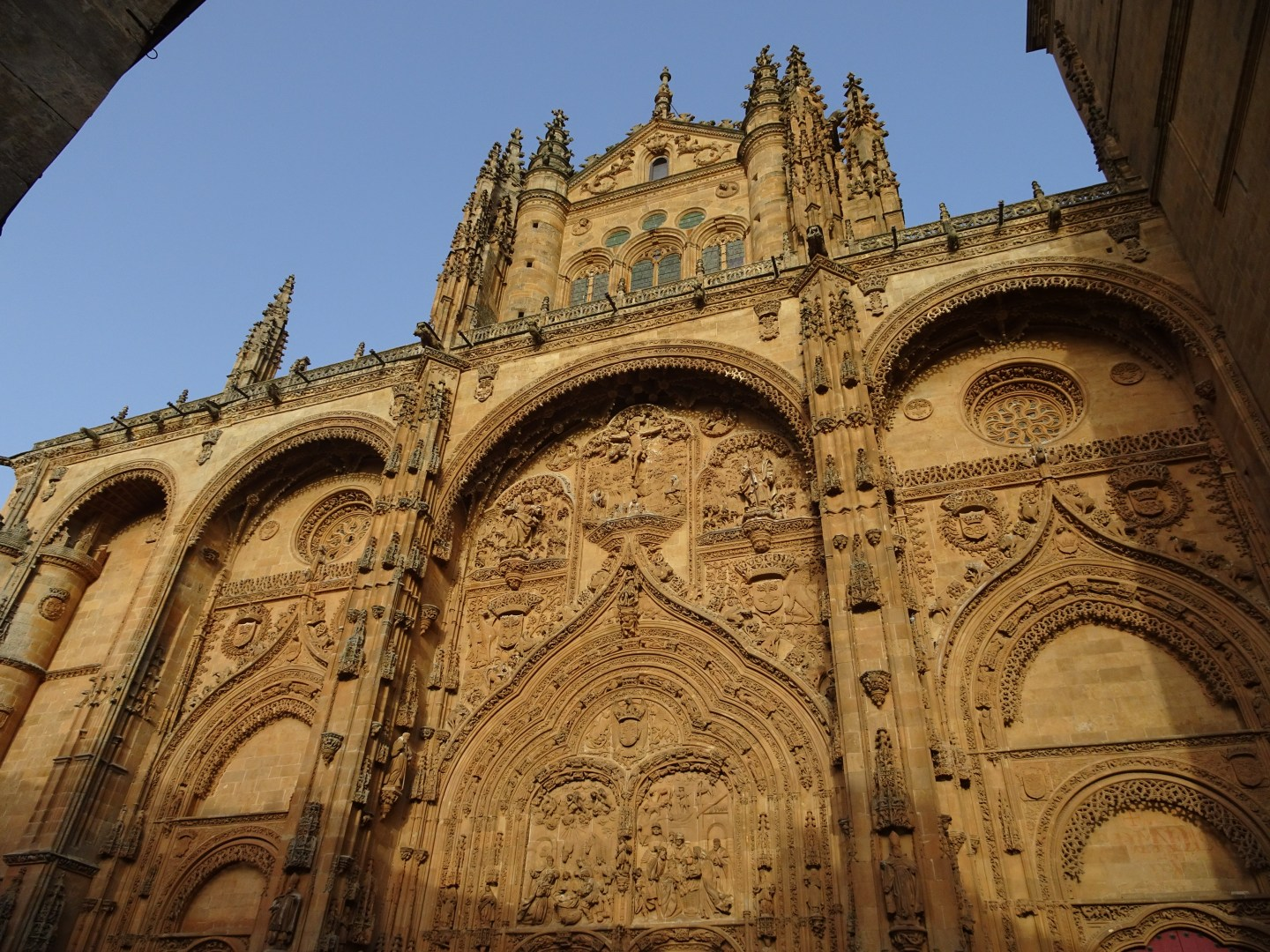 The prestigious Salamanca Cathedral
