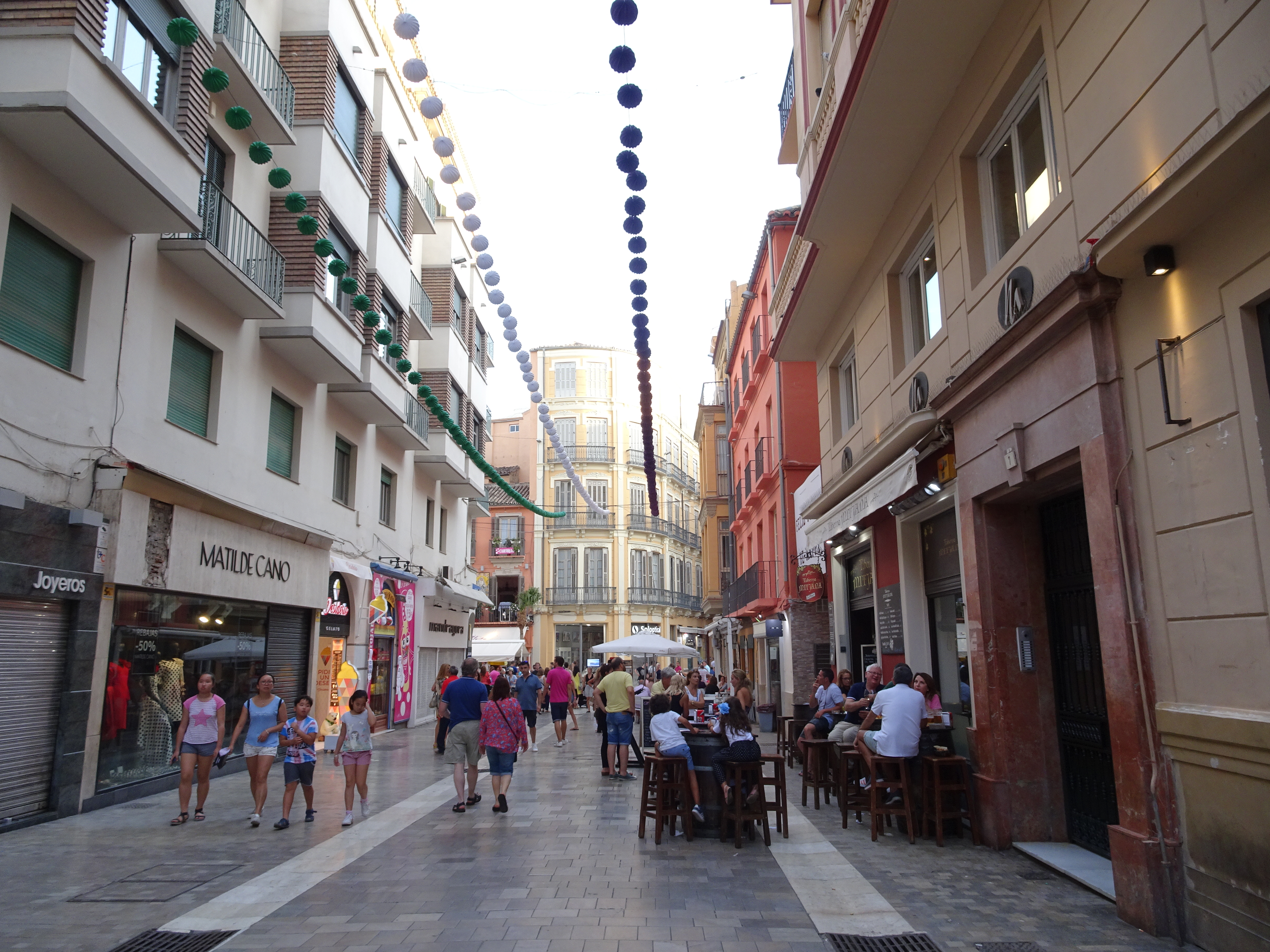 Wander the streets of Malaga old town