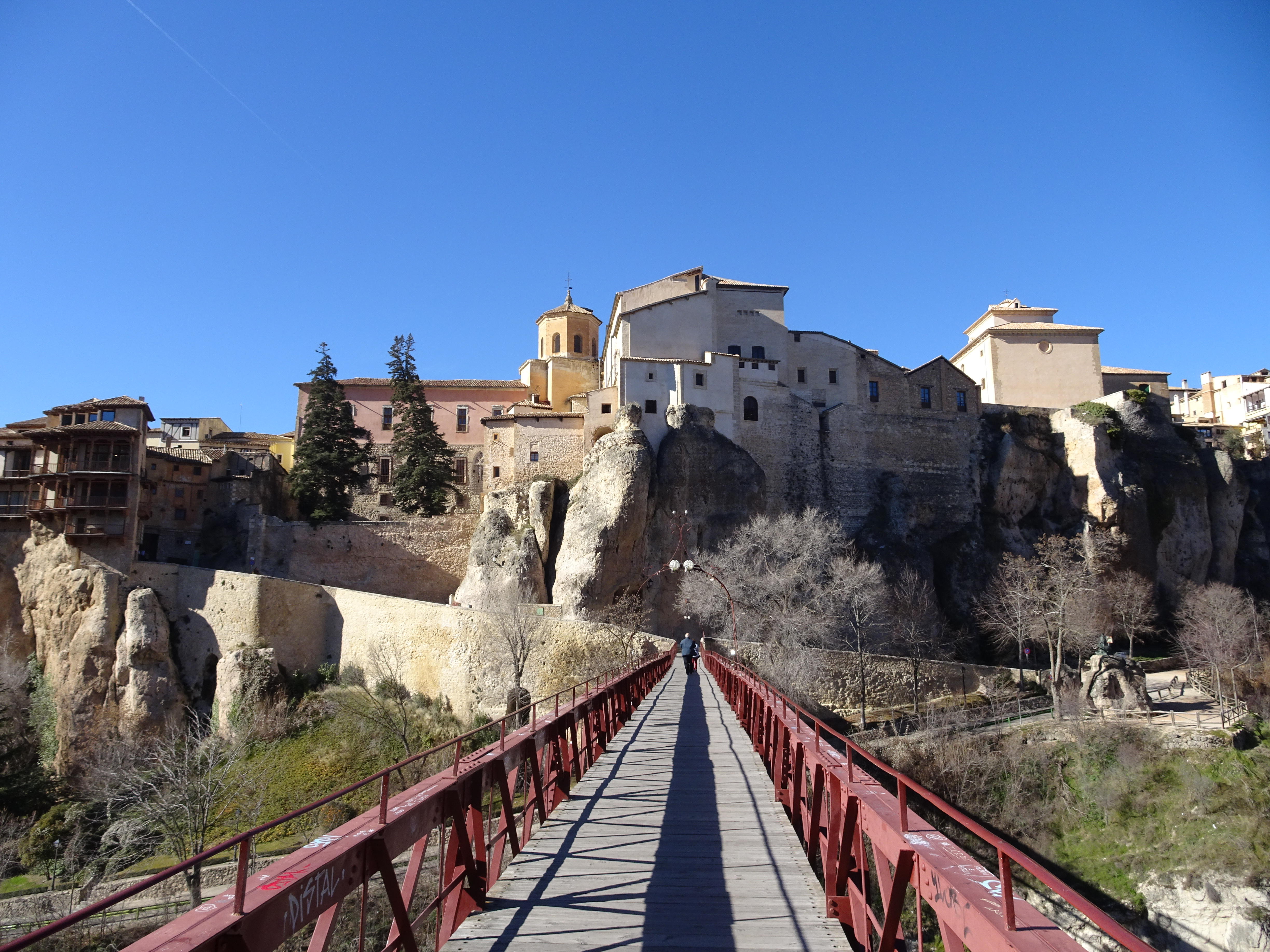 exploring the city of Cuenca
