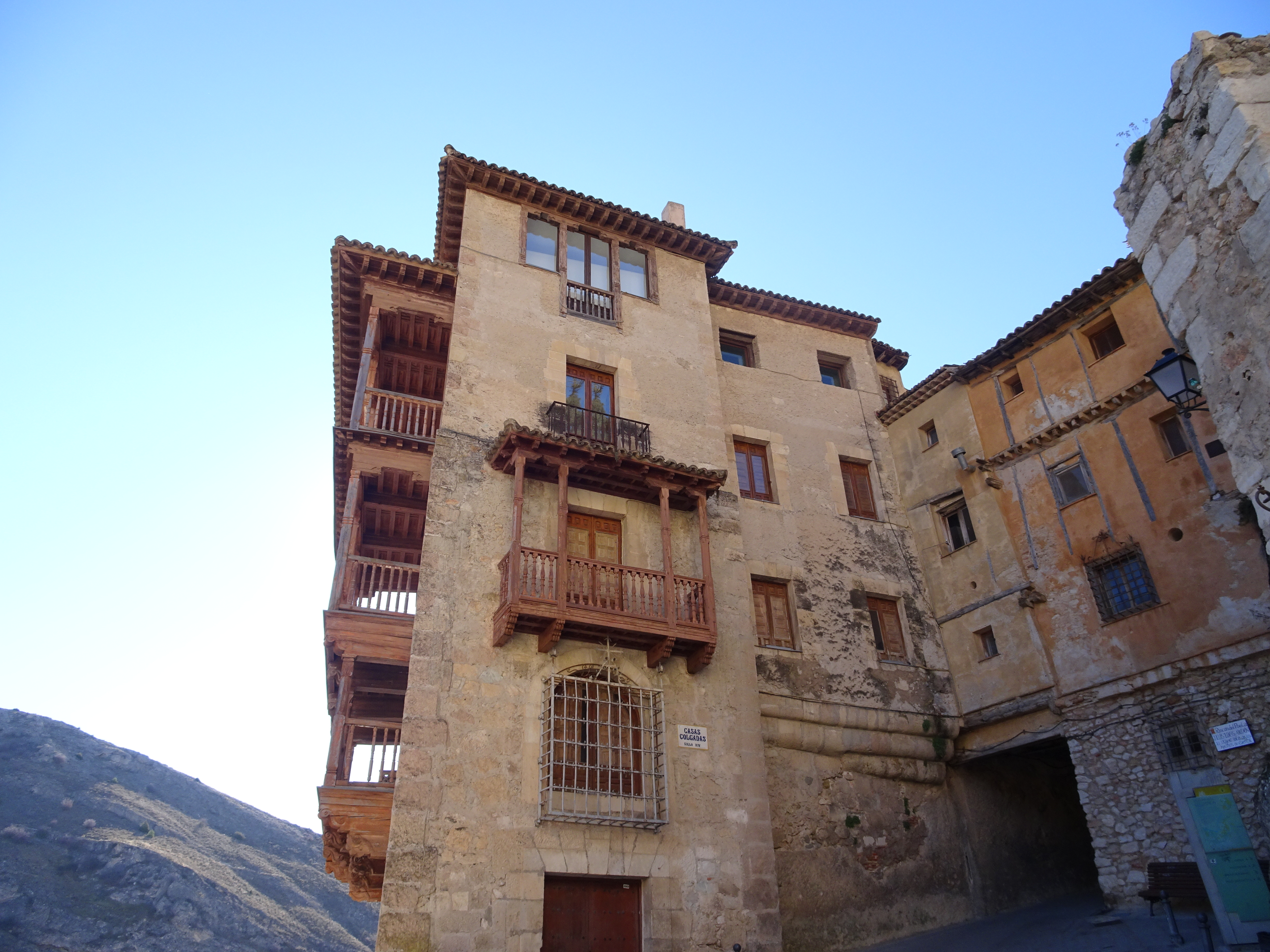 Go inside a Cuenca hanging house