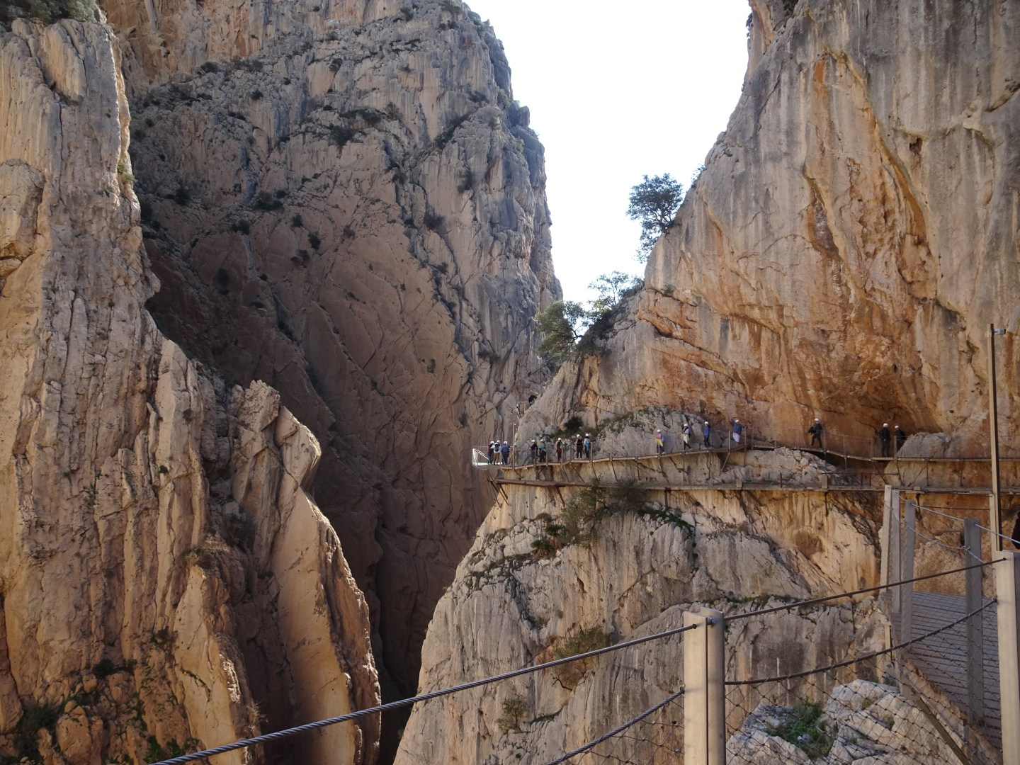 Walking the Caminito del Rey